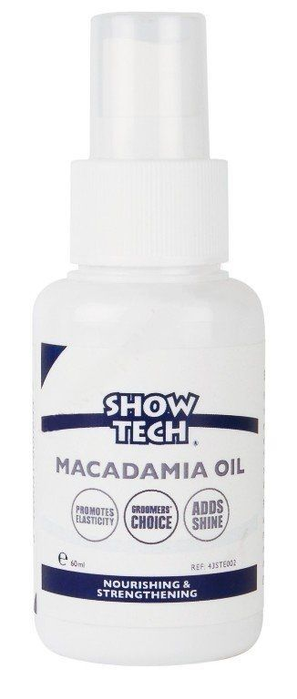 Масло Show Tech Macadamia Oil для шерсти собак (60 мл) масло show tech macadamia oil для шерсти животных 60мл