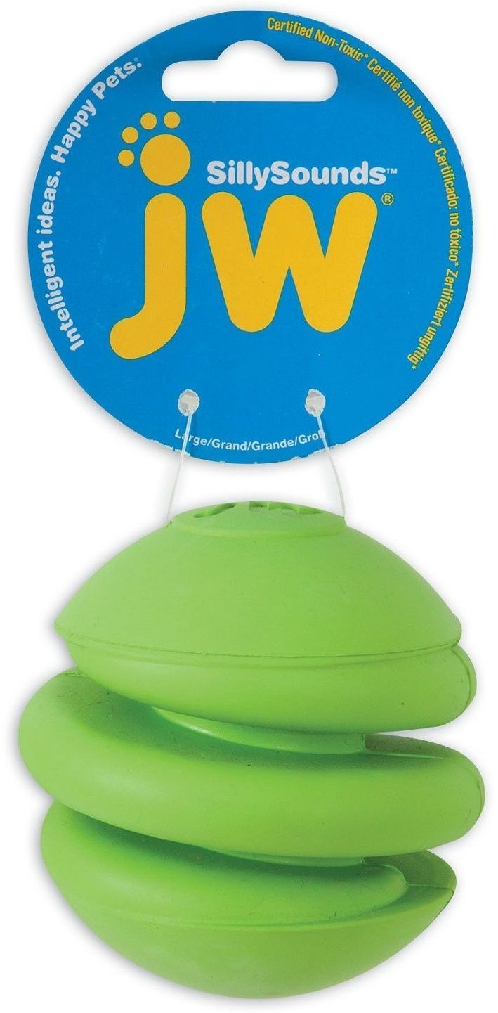 Игрушка JW Silly Sounds Spring Ball для собак (7 см, ) silly chemnitz
