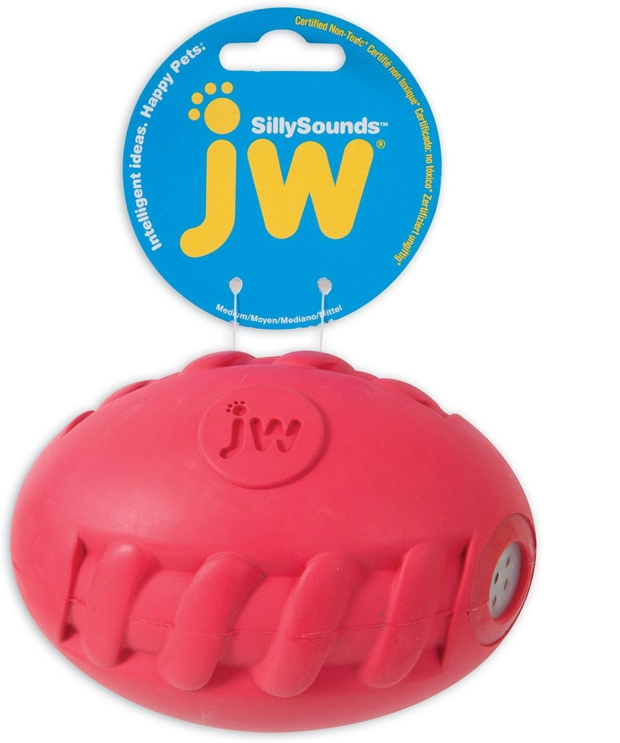 Игрушка JW Silly Sounds Football для собак (23 см, ) silly chemnitz