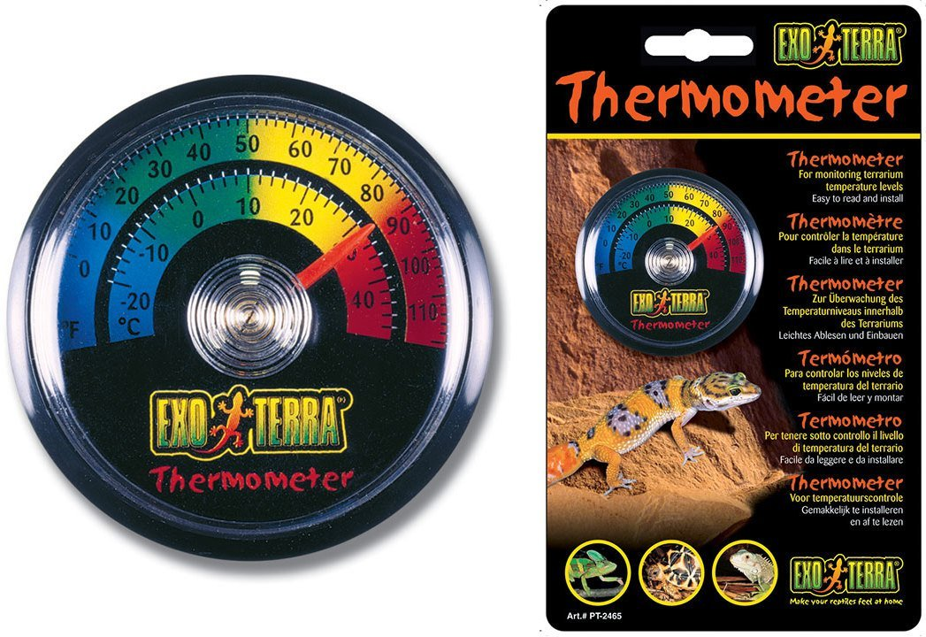 Термометр Exo Terra Analog Thermometer для террариума (Ø - 5,5 см) термометр happy baby 18003 water thermometer white