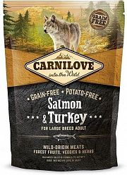 Сухой корм Brit Carnilove Salmon&Turkey For Large Breed Adult беззерновой для собак