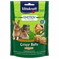 Лакомство Vitakraft Emotion Crispy Balls шарики для грызунов 80 г