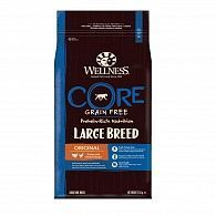 Сухой корм Wellness Core Large Breed Adult беззерновой для собак крупны пород